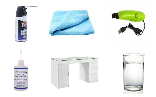 Como Fazer Limpeza Externa em Notebook