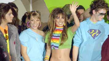 Rebelde memories: RBD cast in Versace show, Mexico 2004