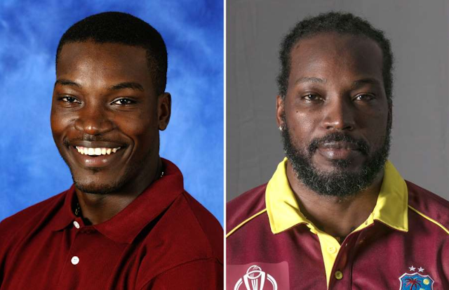 Chris Gayle then and now