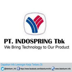 Informasi Lowongan Pekerjaan PT Indospring Tbk untuk lulusan D3 Di Gresik