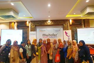 Woman Community yang diadakan sama Maltofer di Hotel Noormans, Semarang,