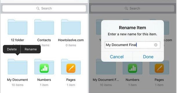 how to download a folder from icloud