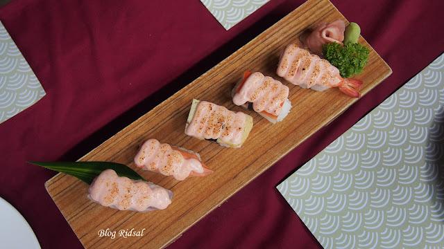 Raku Sushi, Kuliner Jepang dan Medan #07