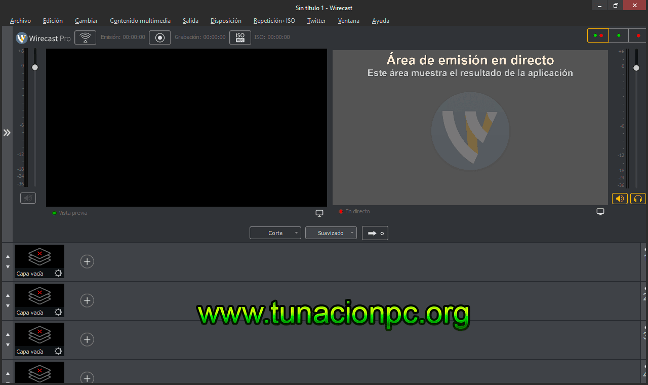 Telestream Wirecast Pro Final Transmite en Vivo