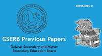GSERB Principal Previous Year Question Papers