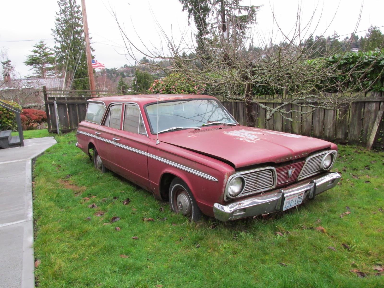 Seattle's Classics: 1966 Plymouth Valiant Wagon