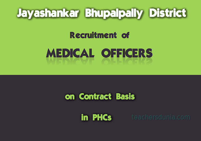 Recruitment-of-Medical-Officers-in-PHCs-Jayashankar-Bhupalpally-Dist