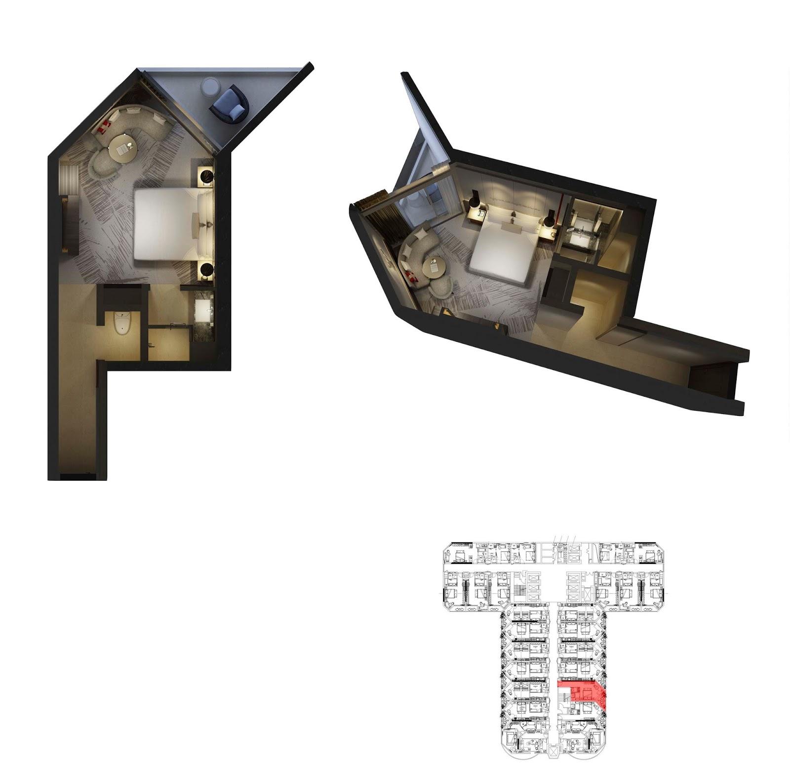 Mặt bằng thiết kế căn hộ 14 dự án La Luna Resort