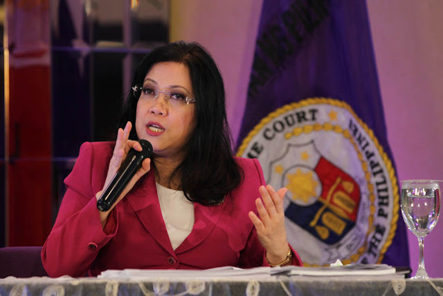 Sereno chooses to keep quiet on Pres. Duterte's remarks against her