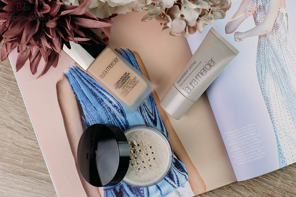 Flawless but natural Skin Laura Mercier Flatlay