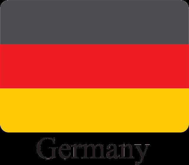 Almanya Bayrağı Vektörel