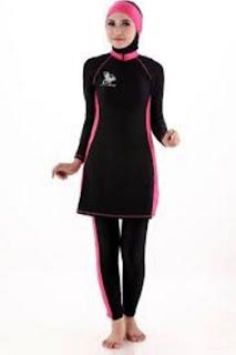 15 Gaya Pakaian Olahraga Wanita Muslim Untuk Senam, Renang Dan Lari