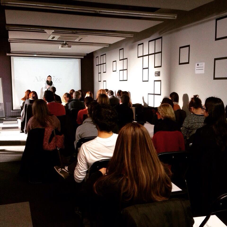 Sesión de AlonSize en Madrid Emprende Vicálvaro