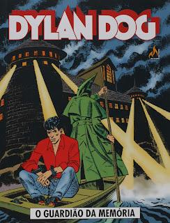 Capa da HQ Dylan Dog: O guardião de memória