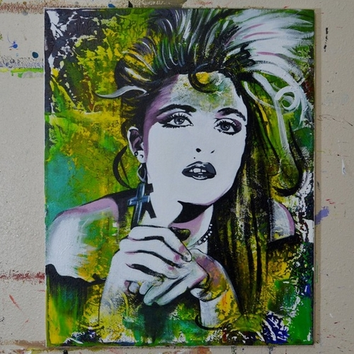 12-Madonna-Jonathan-Harris-Celebrity-Paintings-Images-and-Videos-www-designstack-co