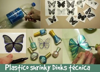 430 Tutoriales e Ideas Tecnica Plastico Shrinky Dinks