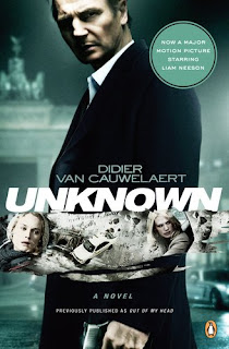 GIVEAWAY: Unknown by Didier Van Cauwelaert