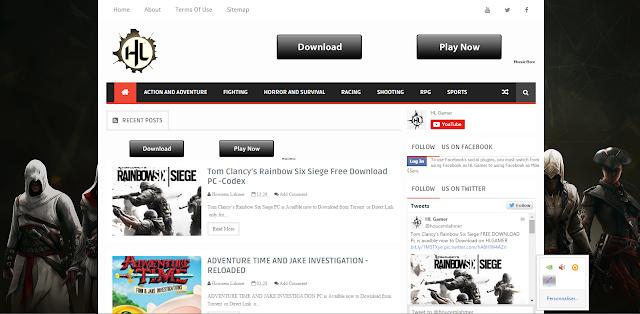 الموقع الجديد والمتميز لتحميل ألعاب viedogame  حصريا ومجاناً