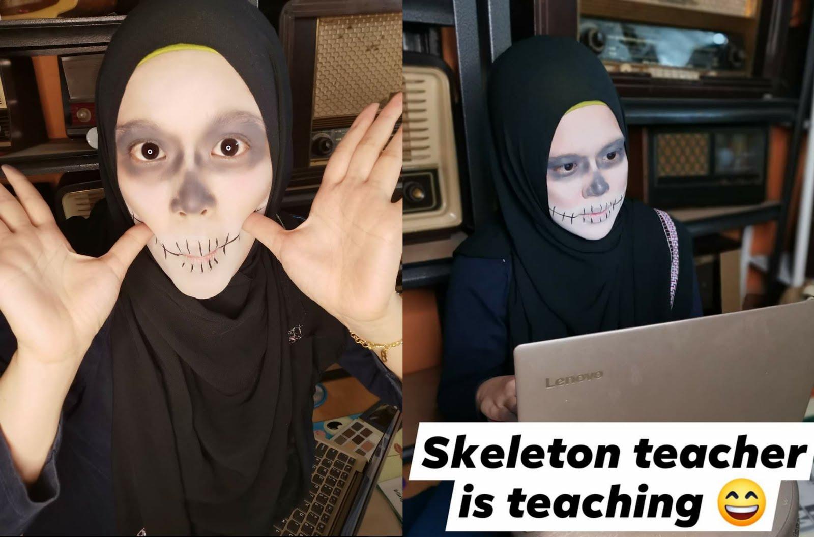 Teacher Skeleton