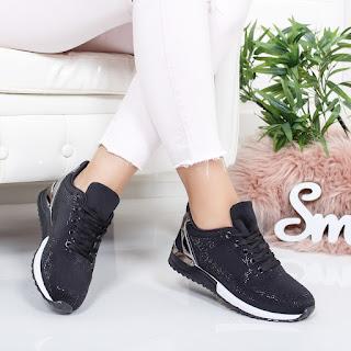 Pantofi sport Fenasi negri