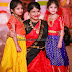 Cute Kids in Brocade Lehengas