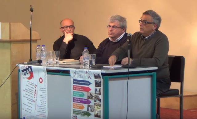 """Εκδήλωση - Συζήτηση με θέμα: """"Το σχολείο σήμερα"""" στο 1ο ΕΠΑΛ Ναυπλίου από τον Σύνδεσμο Φιλολόγων Αργολίδας (βίντεο)"""