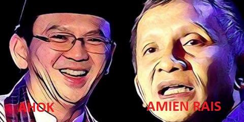 Amien Rais Silakan Jokowi Lindungi Ahok Biar Dua Duanya Lengser Sekalian