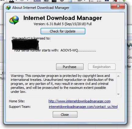 cara menghilangkan fake serial number idm tanpa software