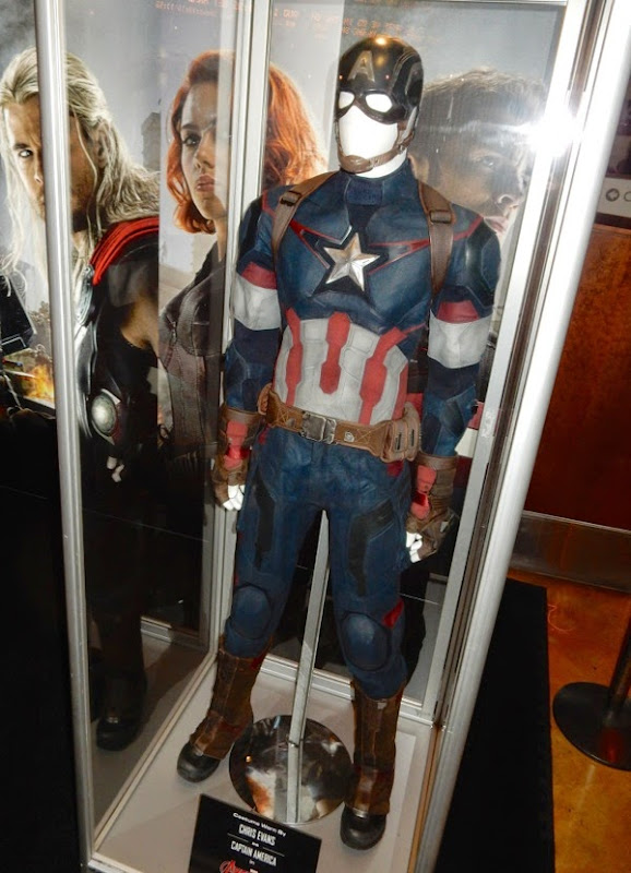 Chris Evans Captain America film costume Avengers Age of Ultron