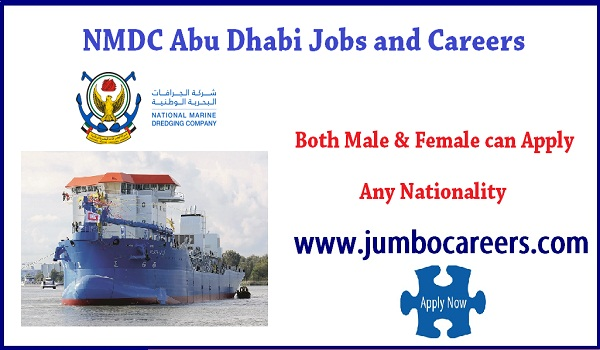 Latest Semi Government Jobs in UAE - NMDC Abu Dhabi Careers 2018