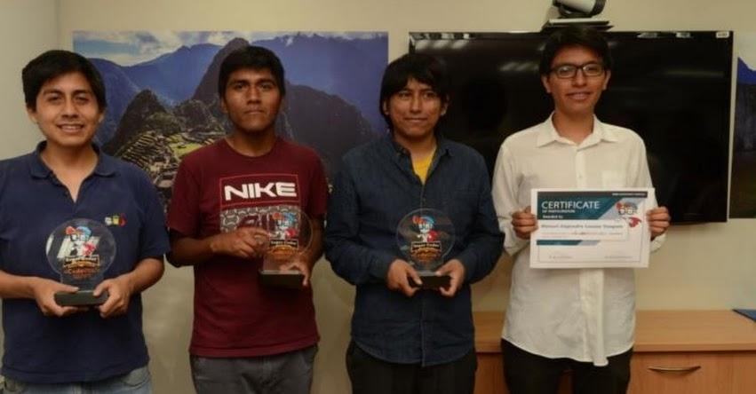 Tres peruanos representarán a América Latina en concurso internacional de Programación CodeVita