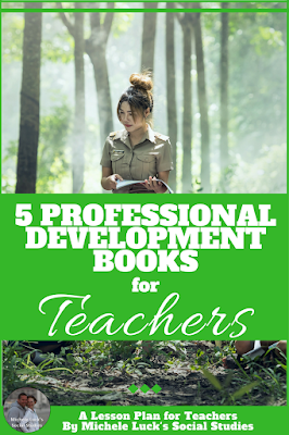 Whether you are a new teacher or you've been in the teaching profession forever, these professional development books are the perfect summer reads to help you start off the new school year on the right foot. I'm really partial to the last one!