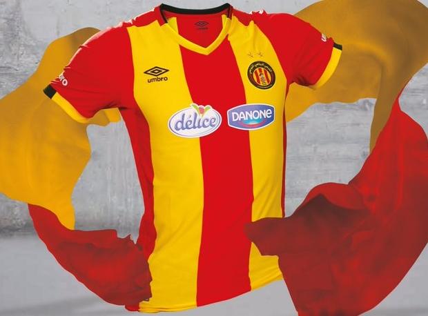 Umbro lança as novas camisas do Espérance de Tunis - Show de Camisas 7878a36399a2a