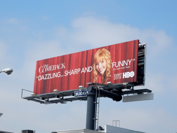 The Comeback Emmy 2015 billboard