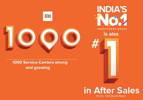 Xaomi complete 1000 service canter all around india