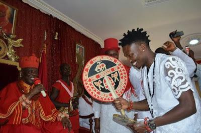 BBNaija: Efe Bags Chieftaincy Title as Prince of Okpe Kingdom in Delta