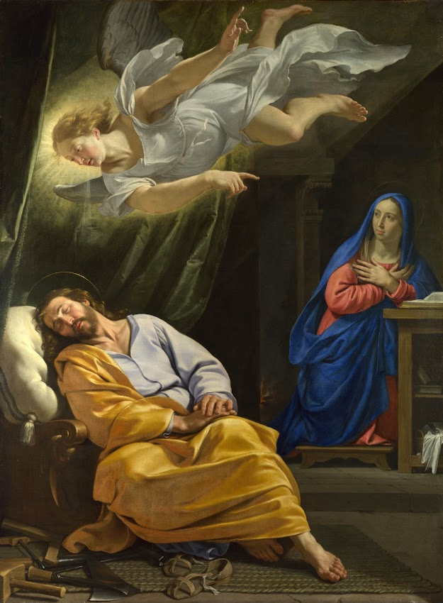 Philippe de Champaigne - The Dream of Saint Joseph
