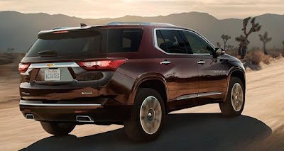 Chevrolet Traverse 2018 Reviews, Specs, Price