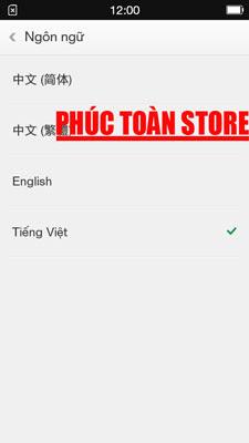 Tiếng Việt Oppo 1107 alt