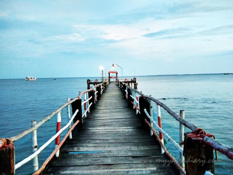 Pier - boat ride in Rameswaram, Tamil Nadu
