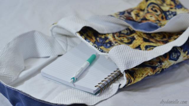 Book Tote Bag DIY