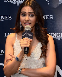 Rakul Preet Singh Launches New Collection Watches in Longines Photos