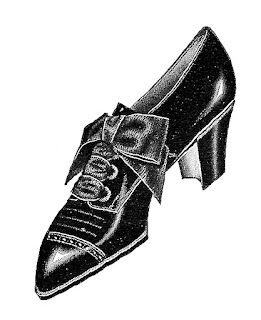 shoe fashion women accessory illustration image antique