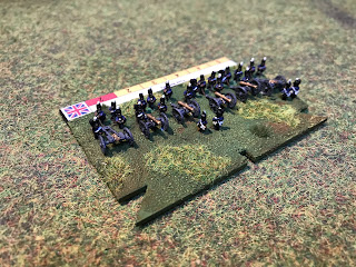British artillery for Blucher in 6mm