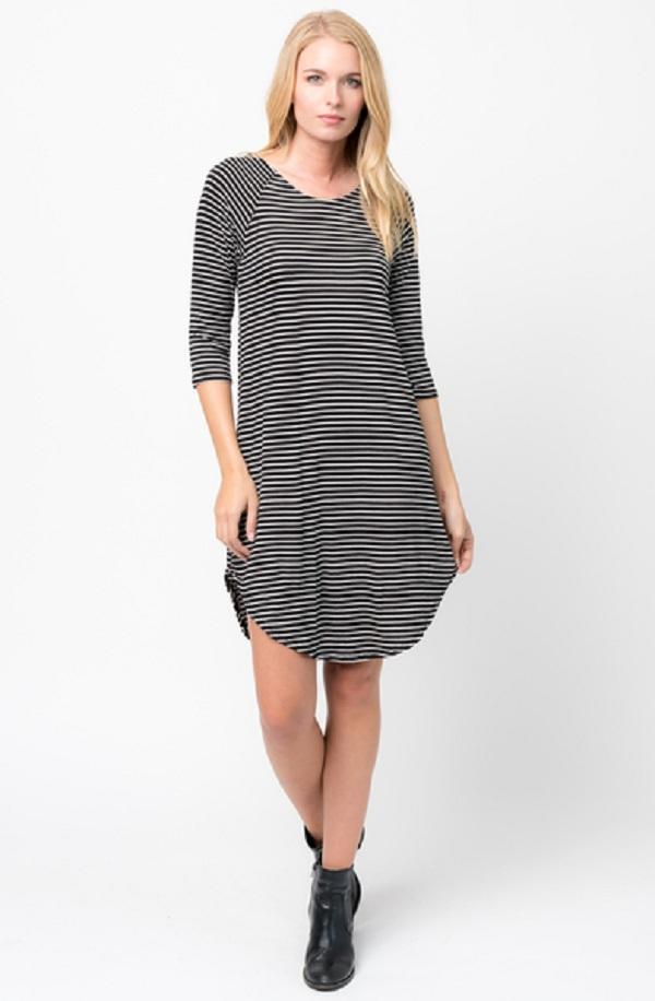 half sleeves dresses