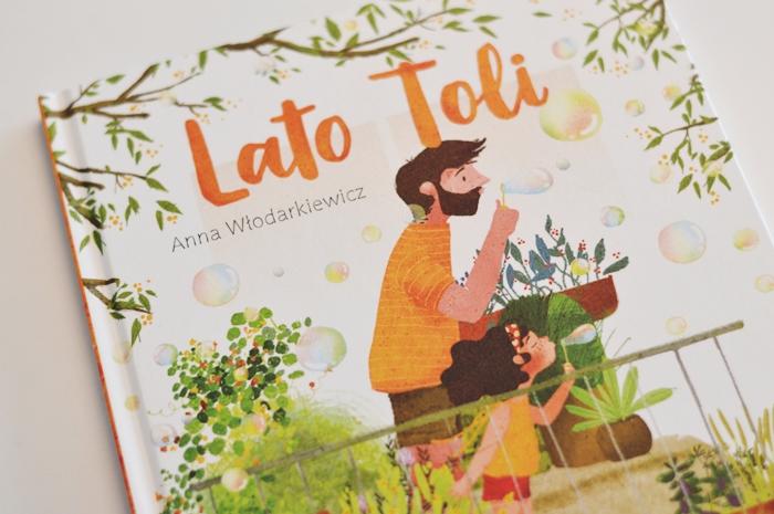 lato Toli, wakacyjna książka, książka dla 4latki, krótkie opowiadania