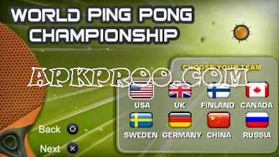 Game World Ping Pong Championship PPSSPP ISO High Compressed Free Download