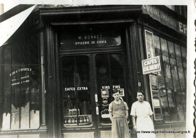 Magasin, épicerie, 1939.