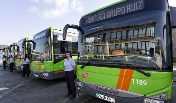 c7ee86287d 18 nuevos autobuses interurbanos de Martín para las líneas 480