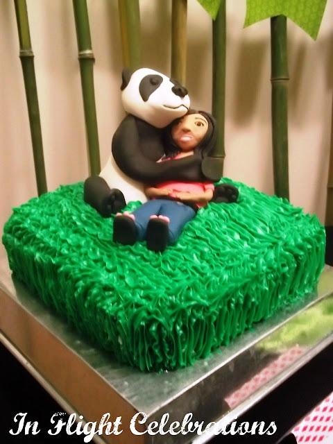 In Flight Party Ideas A Panda Party 13th Birthday